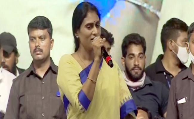 Sharmila following Jagananna strategy!