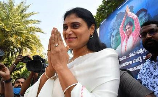 Sharmila Preparing For Padayatra!