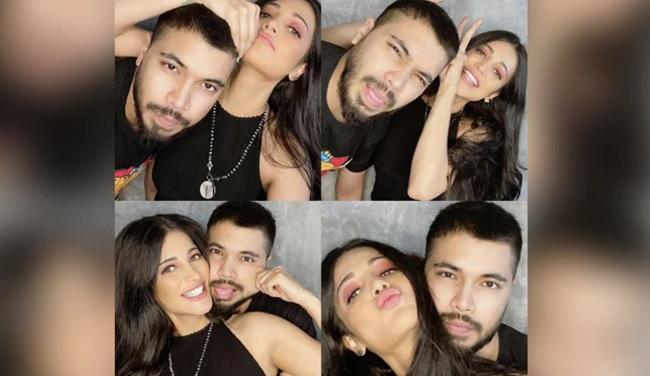 Pic: Shruti Haasan's Lock Down With Boyfriend