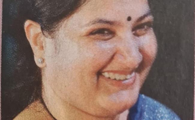 Swati Balaram's daughter succumbs to Covid