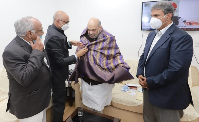 TDP MPs Meet Amit Shah: What's Up?