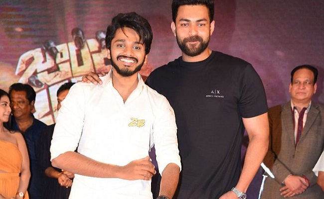 Chiranjeevi Loves Teja A Lot: Varun Tej