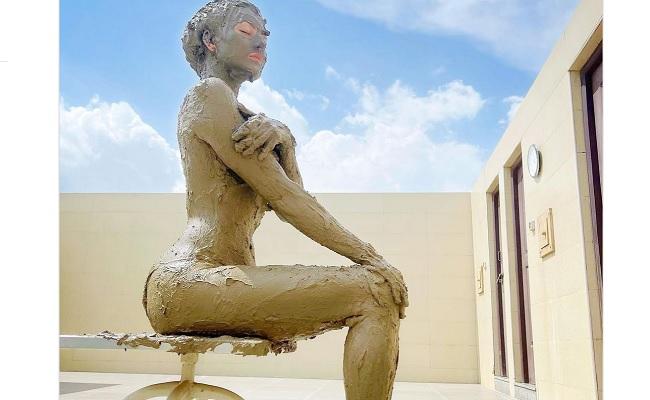 Urvashi Rautela Takes Mud Bath, Shares Photo