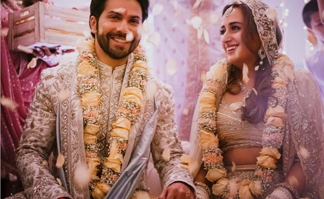 Varun Dhawan and Natasha Dalal are now married