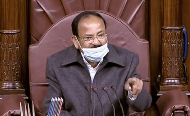 Venkaiah Pained At Vijayasai's Comments