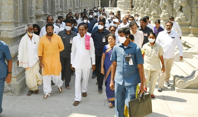 Yadadri temple to re-open in May after renovation