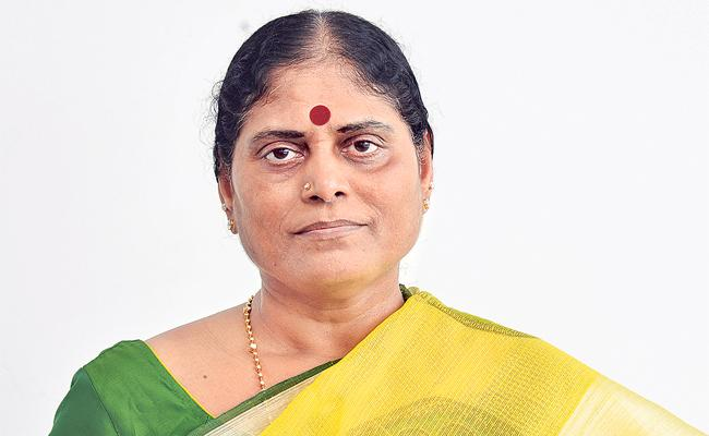 Vijayamma To Attend Sharmila Meet In Khammam